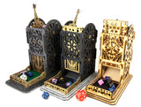 Steampunk Mechanical Dice Towers