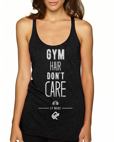 Gym Hair Don't Care Womens Tank
