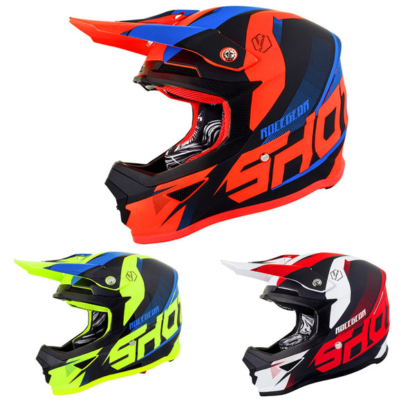 Casque Motocross Shot Furious Ultimate