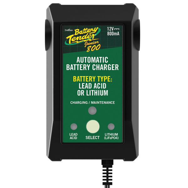 Chargeur de batterie Intelligent Battery Tender Junior 12V 800ma