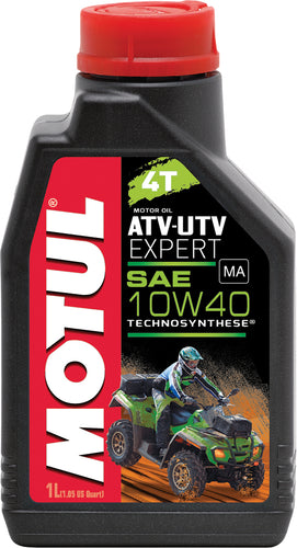 Huile Motul Power 4Temps / 10W-40 / Technosynthese Semi-Synthétique