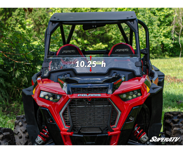 SUPER ATV /DEMI PARE-BRISE TEINTÉ/ POLARIS RZR XP Turbo 2019 +