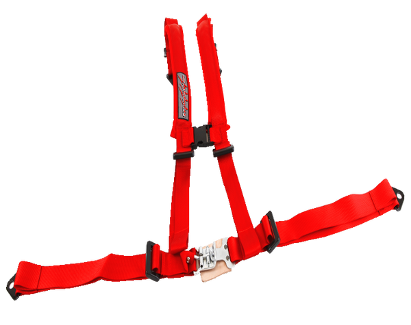"CEINTURE SLASHER 4 POINTS, 2 ""X 2"",ROUGE"