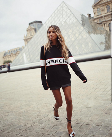 sincerelyjules Givenchy Paris Fashion Week SassieDoll Blog