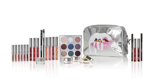 Kylie Jenner Cosmetics holiday bundle makeup sassiedoll blog