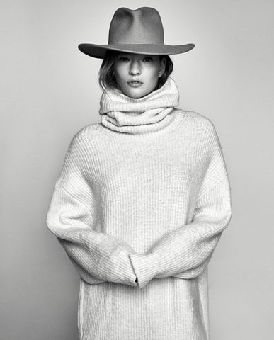 Zara Roll Neck Knitted Sweater AW2017 SassieDoll Blog
