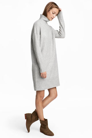 HM knitted dress