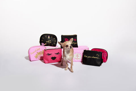 chihuahua sassiedoll beauty makeup bag