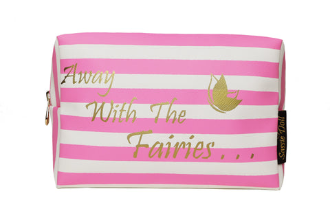 Away With The Fairies Make-up Bag