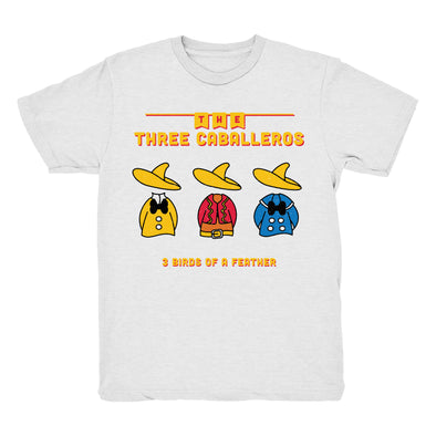 Three Caballeros Tee (White)