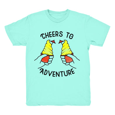 Cheers to Adventure Tee - (Mint)