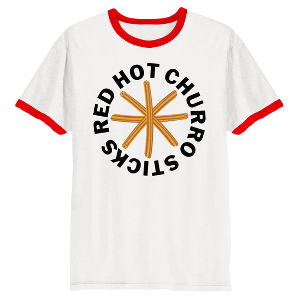 Red Hot Churro Sticks Shirt (Ringer)