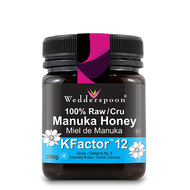 12+ Manuka Honey, 100% Raw, 250g