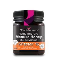 16+ Manuka Honey, 100% Raw, 250g