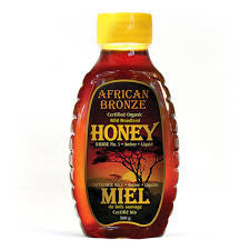Honey African Bronze Wild Woodland Organic 500 g