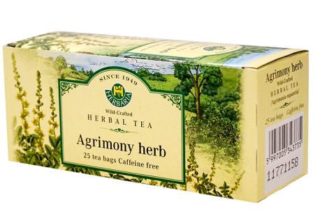 Agrimony Herb Tea Wild-Crafted Herbaria 25 tb,  25 g