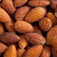 Almonds Roasted & Salted Organic