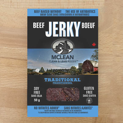 Beef Jerky Traditional McLean 50 g