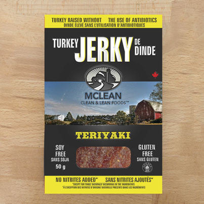 Turkey Jerky Teriyaki McLean 50 g