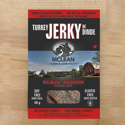 Turkey Jerky Pepper McLean 50 g