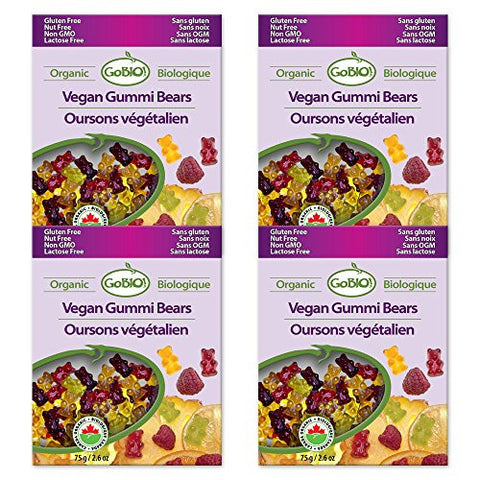 Vegan Bears Gummies Organic 10x75g