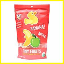 Apple Banana Tiny Fruits  Organic 21g (6 in a case)