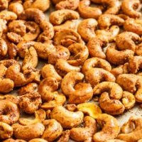 Cashews Roasted & Curry Organic