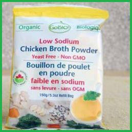 Chicken Powder Low Sodium Bouillon Organic 12x150g