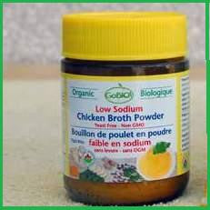 Chicken Powder Low Sodium Bouillon Organic 6x75g