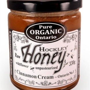 Creamed Cinnamon Honey Organic 300g