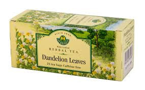 Dandelion Leaves Tea Wild-Crafted Herbaria 25 tb, 32.5 g