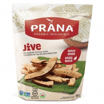 Jive Spicy Chili, Dried Roasted Coconut Chips Organic, Gluten-Free 8x100g