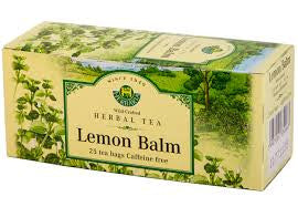 Lemon Balm Tea Wild-Crafted Herbaria 25 tb, 25 g
