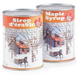 Maple Syrup Quebec Grade A Light Tins Organic 8x540ml
