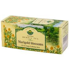 Marigold Blossoms Tea Wild-Crafted Herbaria 25 tb, 20 g