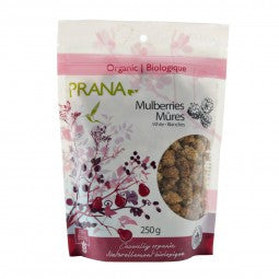 Mulberries White Organic 6x250g