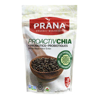 Proactive Chia Black Whole Organic, 2 probiotic strains, 6x284g