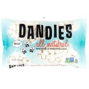 Vegan Marshmallows Vanilla, Mini's Dandies,