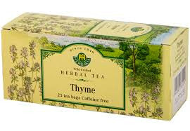 Thyme Leaves Tea Wild-Crafted Herbaria 25 tb, 25 g