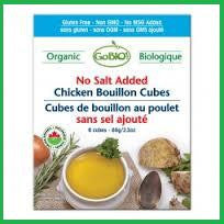 Vegetable No Salt Bouillon Cubes Organic Vegan Kosher 15x66g