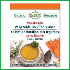 Vegetable Yeast Free Bouillon Cubes Organic Vegan Kosher 15x66g