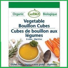 Vegetable Bouillon Cubes Organic Vegan Kosher 15x66g