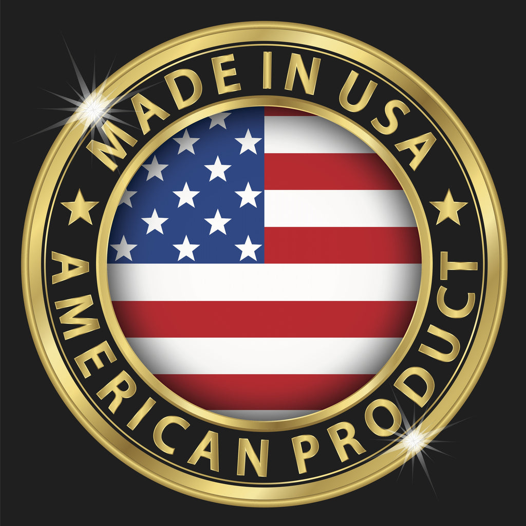 CoQ10 Adult Gummies are made in the USA.  Made in America. USA Strong.  Go America