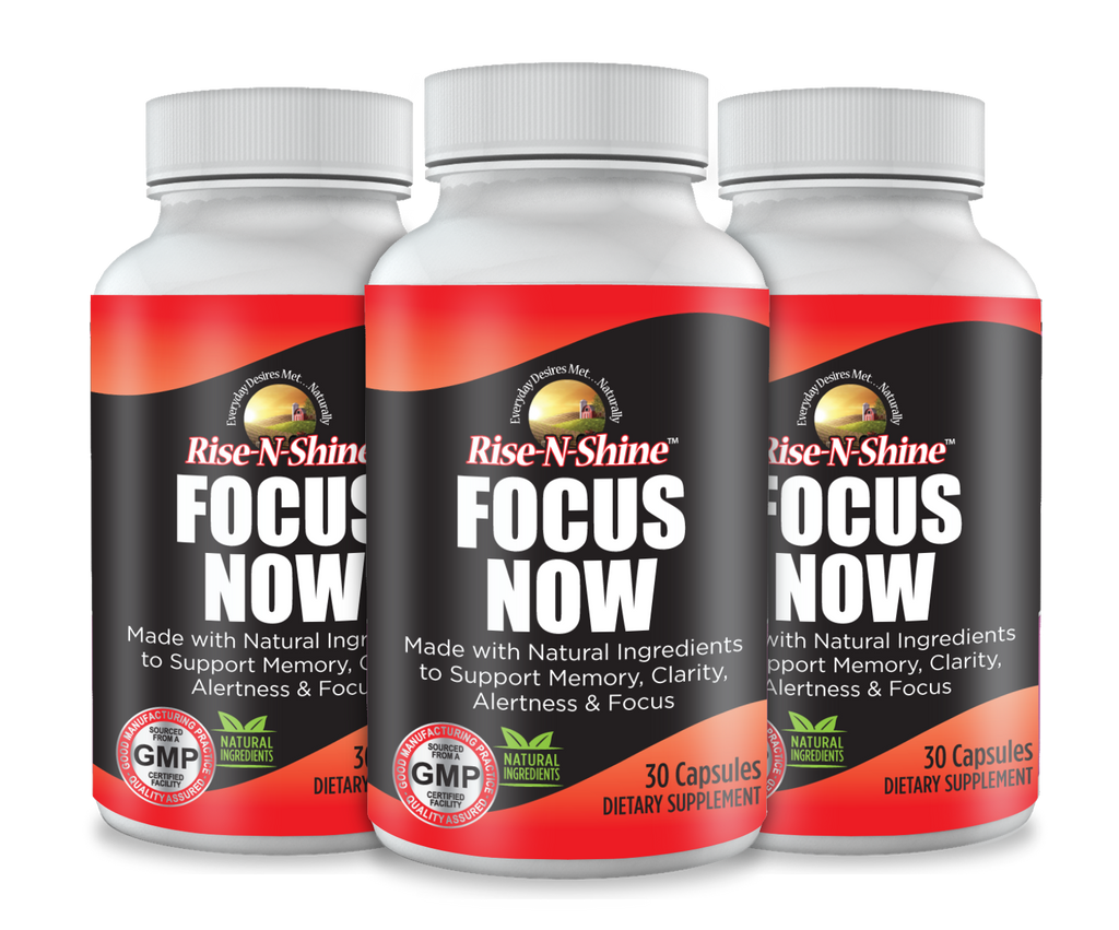 Focus Now for Memory, Clarity, Studying, Thinking and Focus