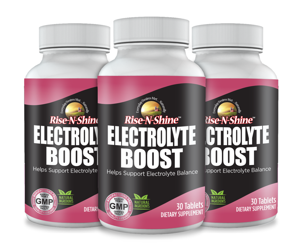 Electrolyte Boost by Rise-N-Shine