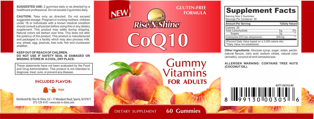 CoQ10 Adult Gummies