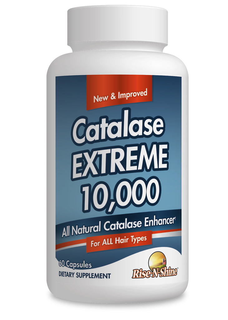 Catalase Extreme 10,000 bottle image formerly known as Go Away Gray