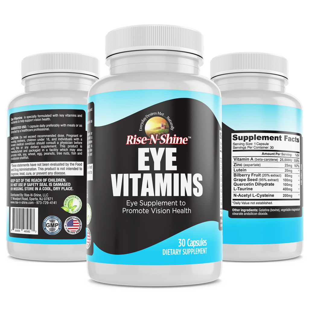 Eye Vitamins - Vision Support