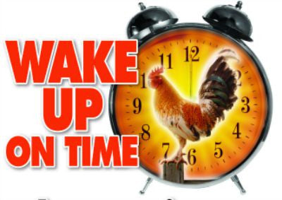 Wake Up On Time - Natural Time Released Energy Formula
