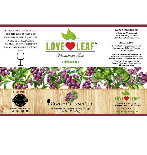 Love Leaf Classic Cabernet Tea
